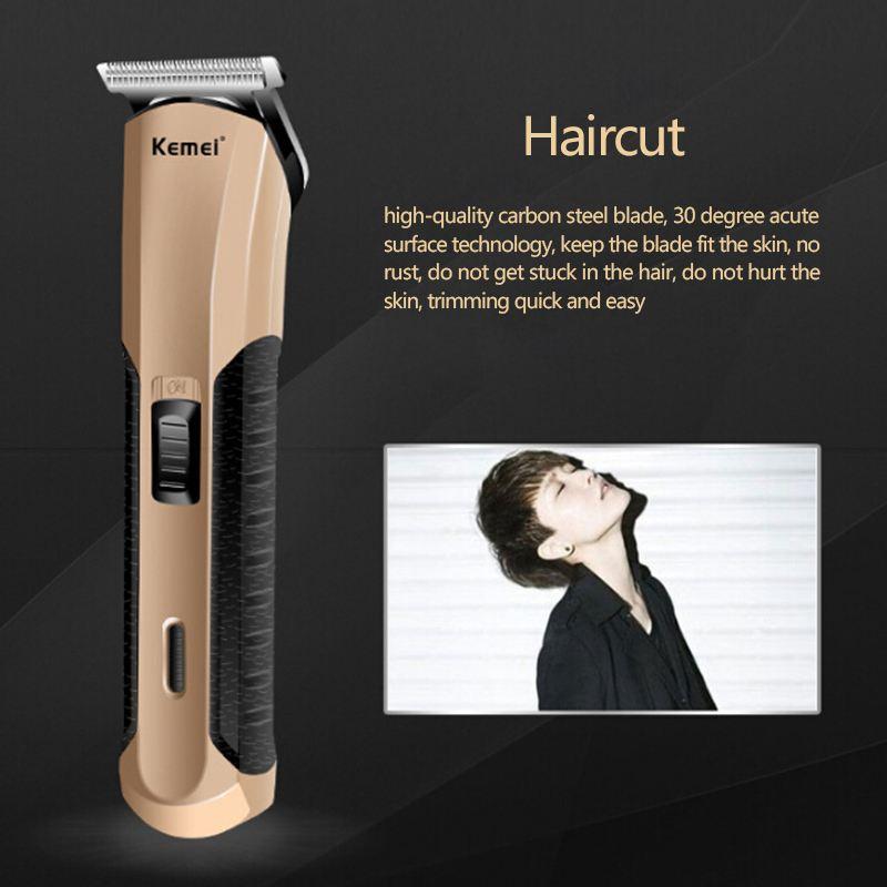 Здоровье и гигиена Kemei KM-528 Обновленная профессиональная машинка для стрижки волос (Фото 3)