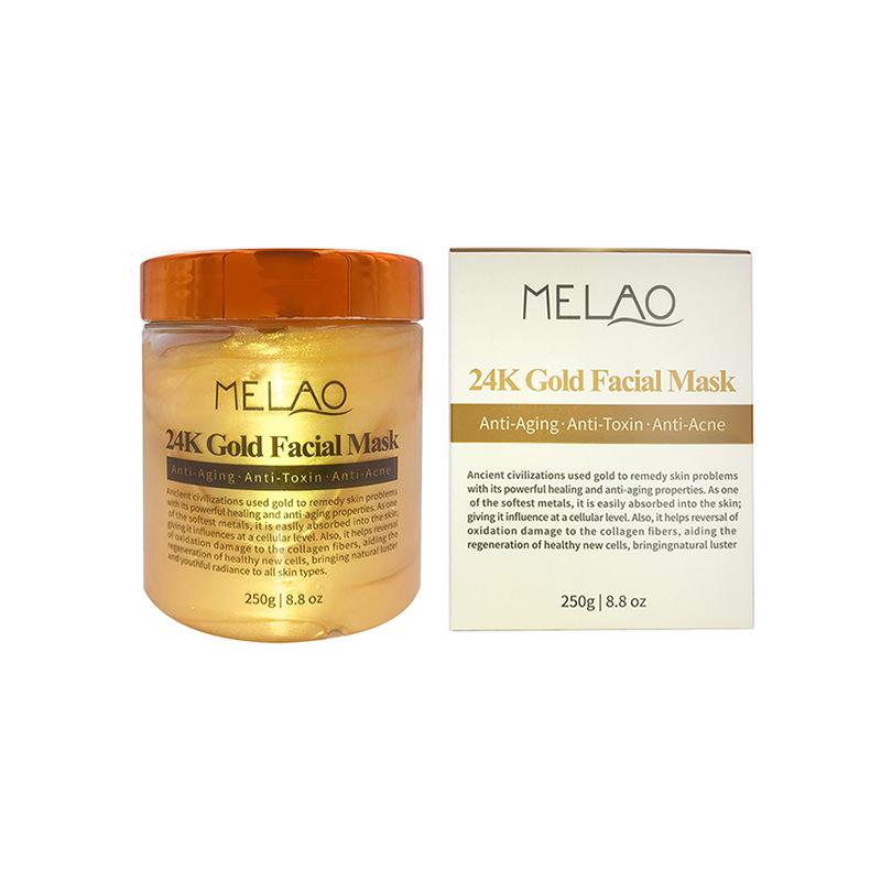 Здоровье и гигиена MELAO 24K Анти-возрастная золотая маска для лица против морщин и акне, 250 г (Фото 2)