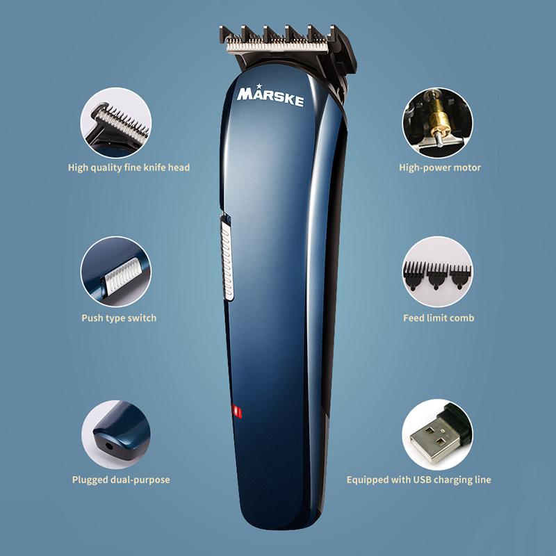 Здоровье и гигиена MARSKE MS-5006 5 в 1 Машинка для стрижки волос с подзарядкой (Фото 4)
