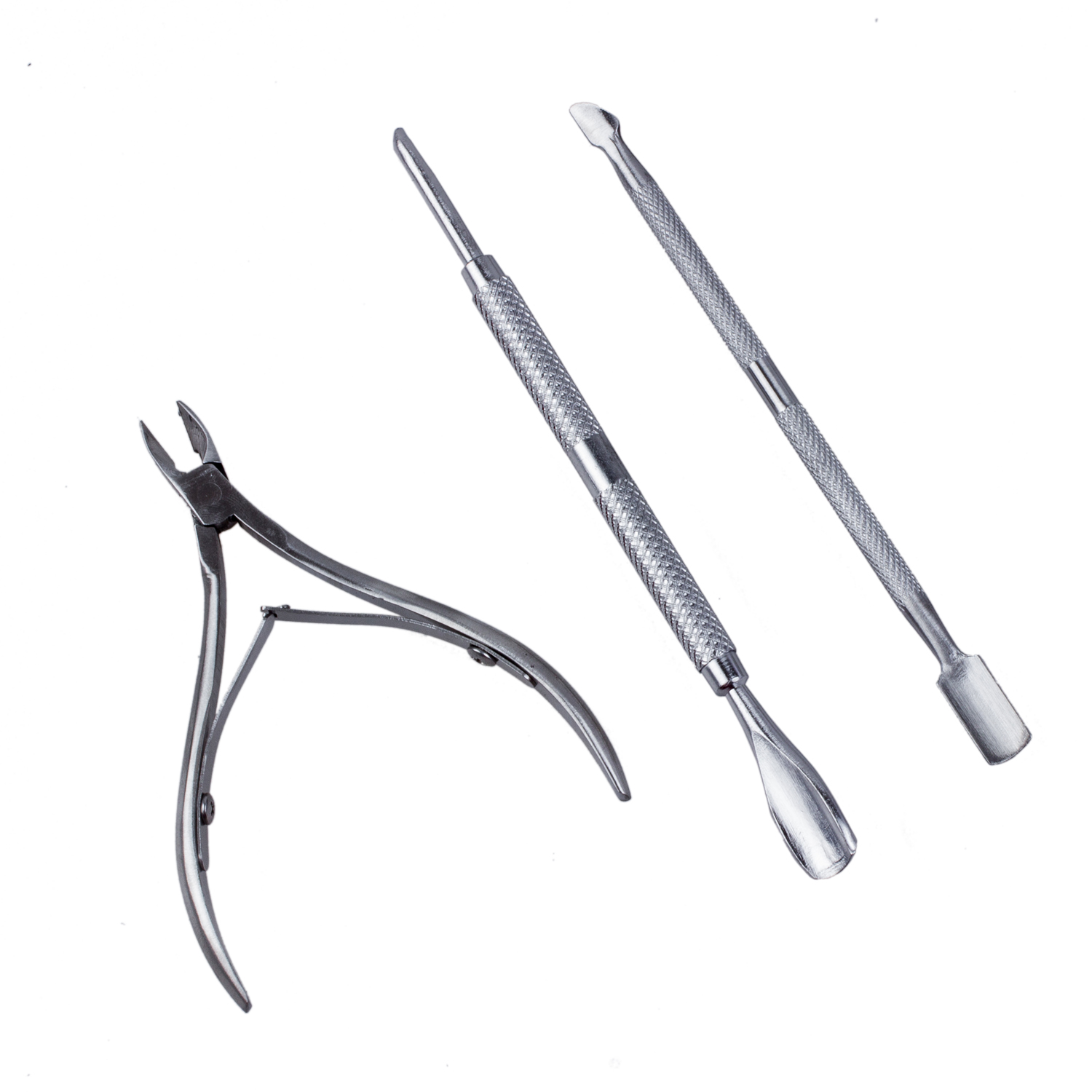 Nail Cuticle Spoon Pusher Nipper Remover Clipper Set Trimmer ...
