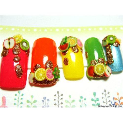 100pcs 3d design nail art fimo canes sticks rods gel tips for 3d nail art fimo canes rods decoration