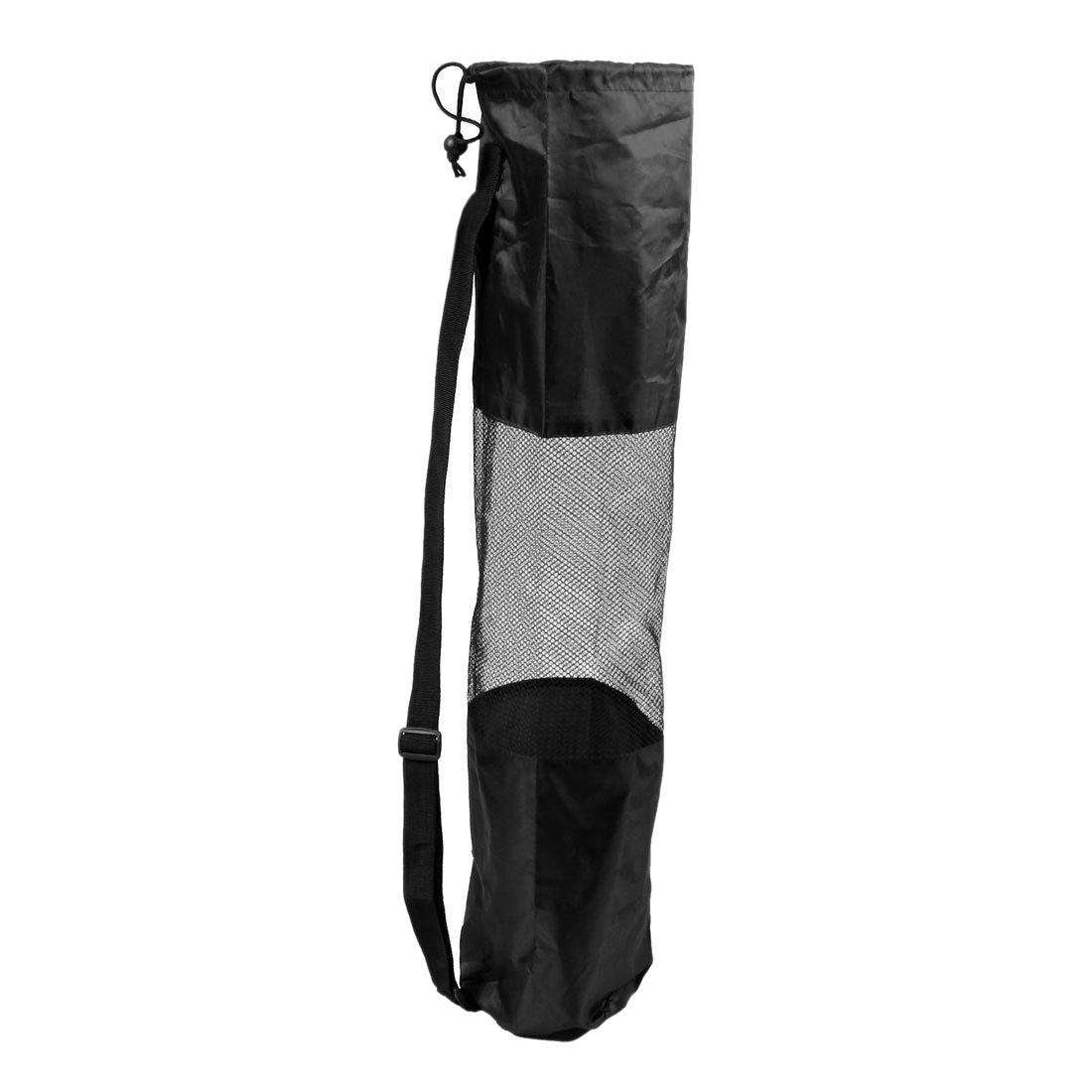 Portable Lightweight Exercise Yoga Mat Bag Carrier Mesh