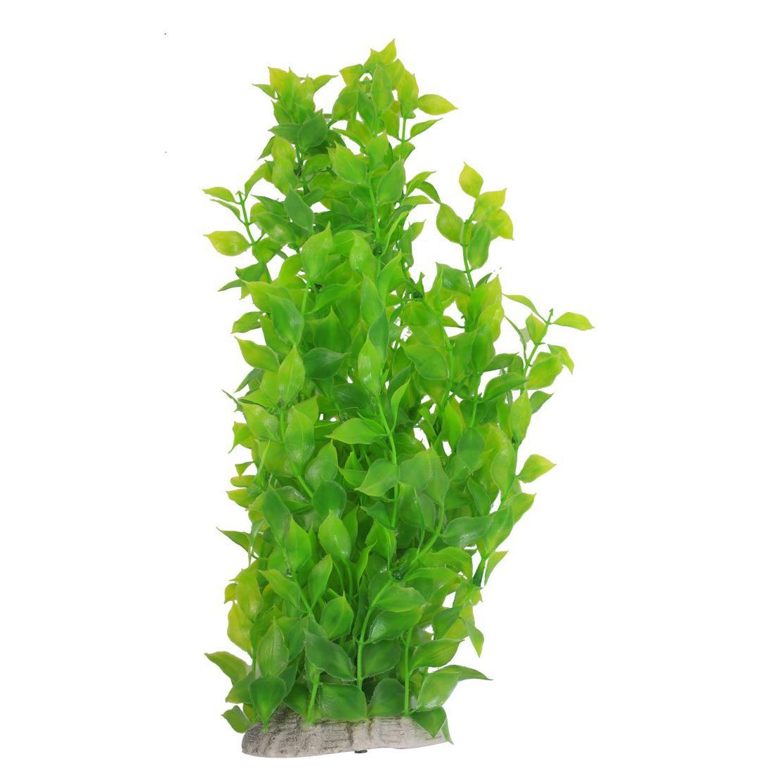 40cm vert herbe plante aquatique artificielle en plastique for Aquarium plastique