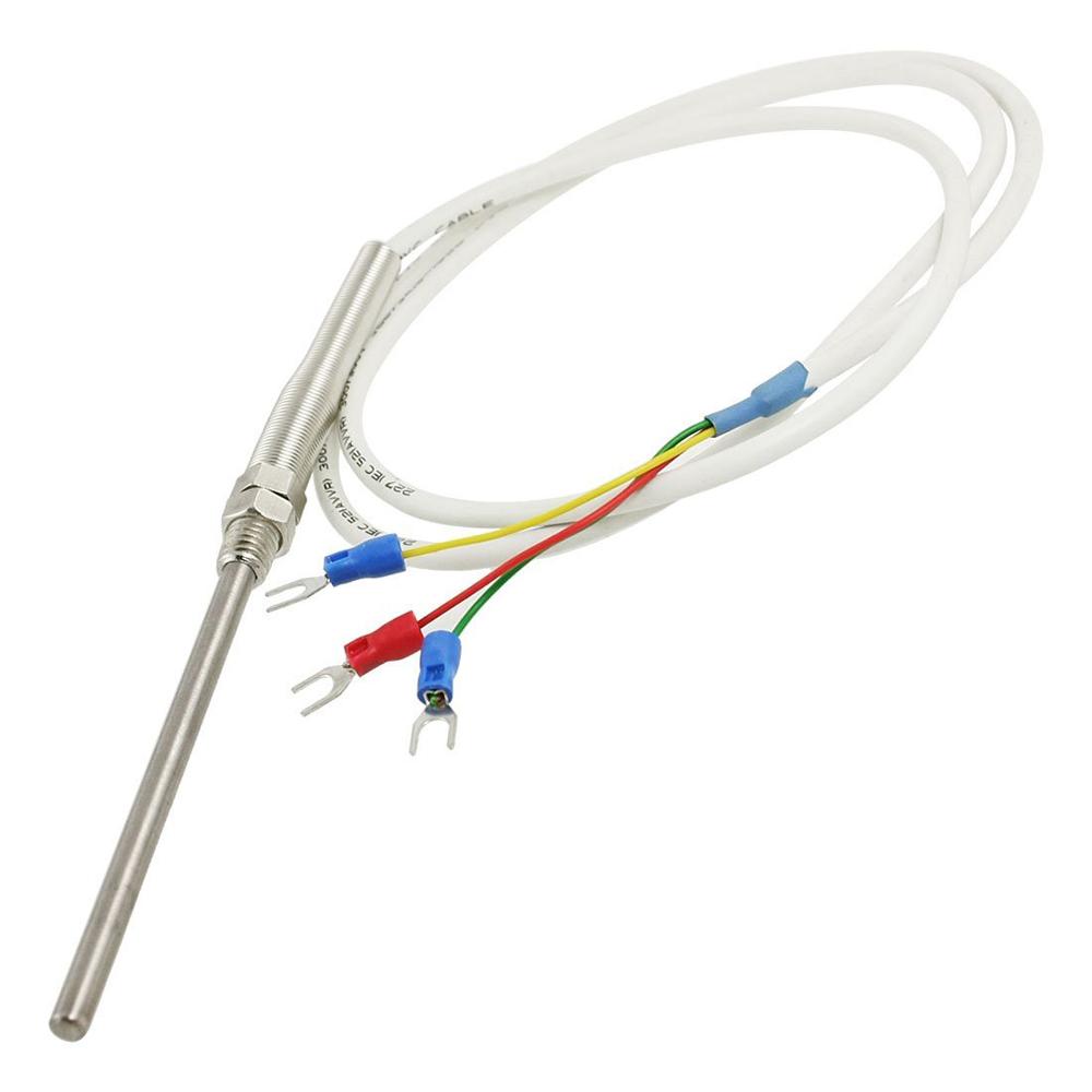 Pt100 Sensor Wiring Ask Answer Diagram Temp Control De Temperatura Sonda Termopar 1m 3 3pies T5 Ebay Ptmm