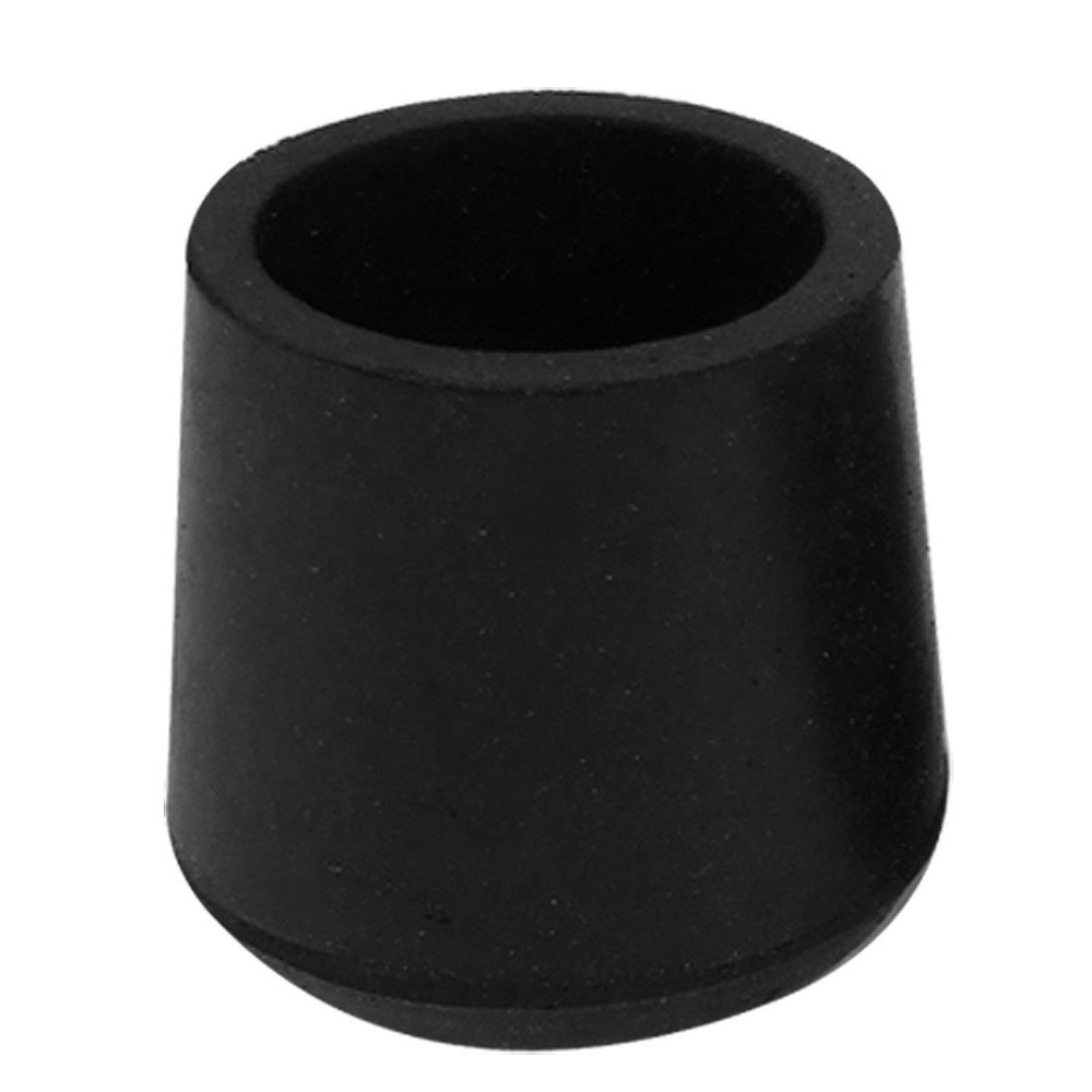 H1 New Practical Rubber Black Table Chair Leg Foot Covers Floor Protector 4 P