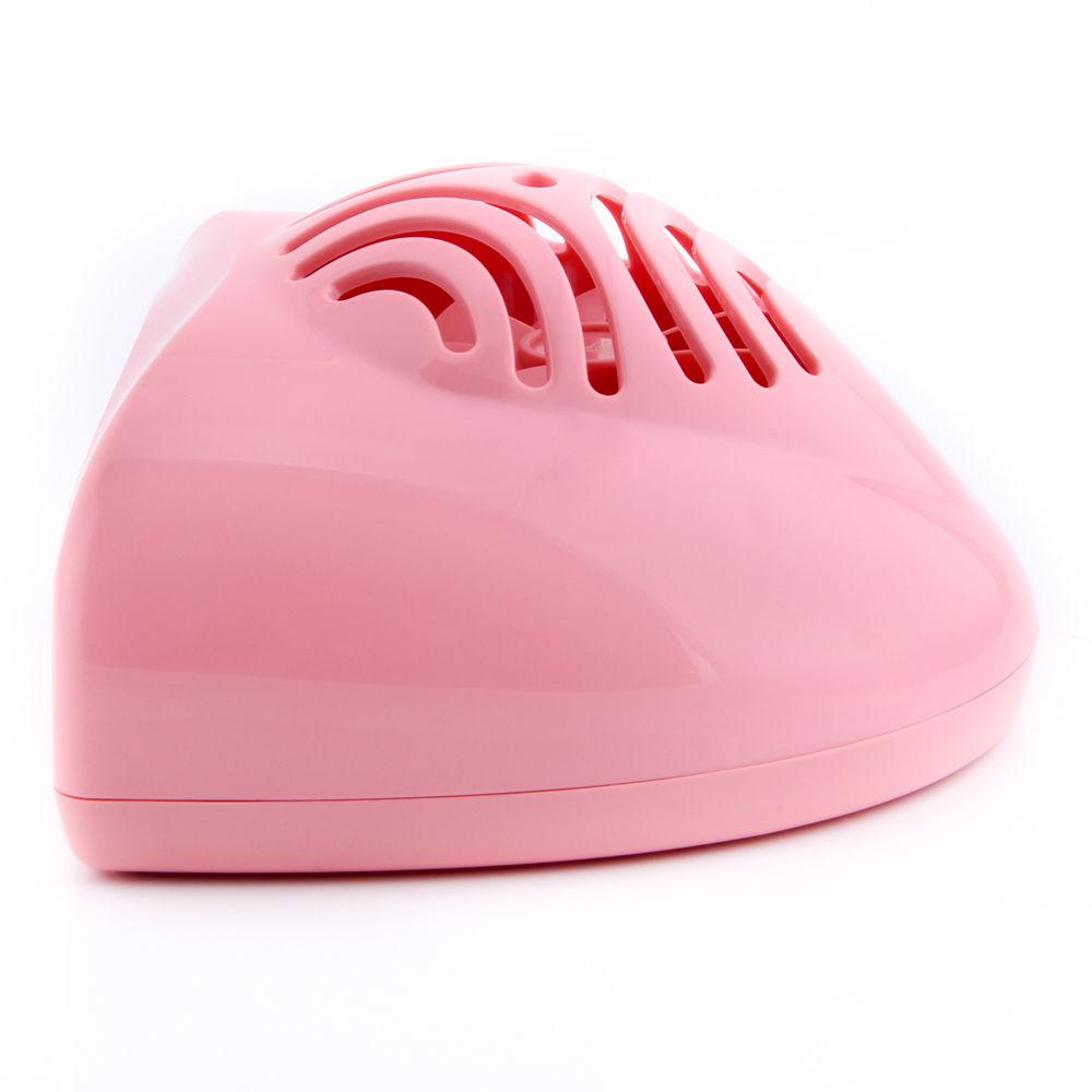 Pink Portable Mini Hand Finger Toe Nail Art Gel Tip Polish