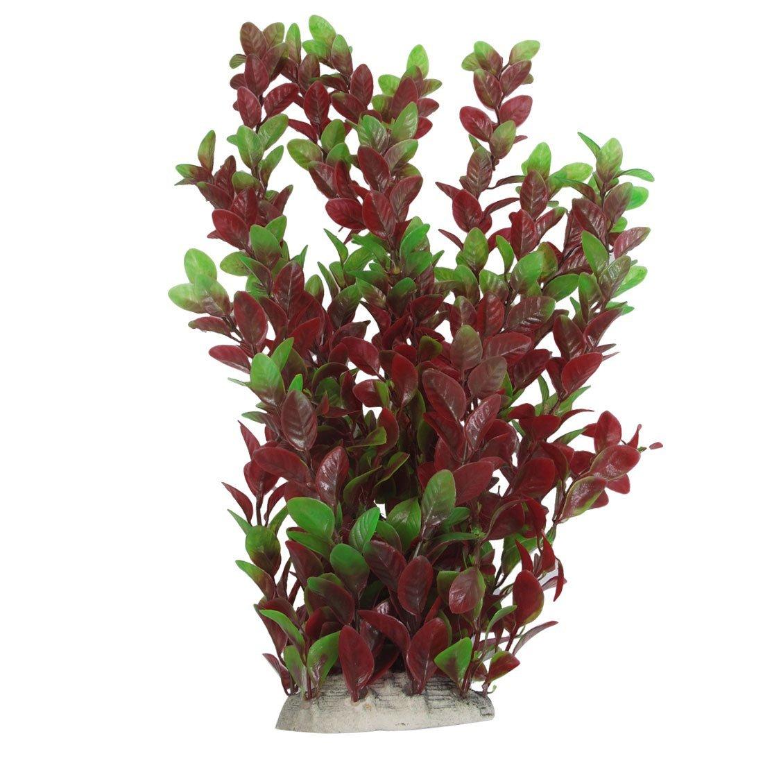 Plantas de 40 cm de plastico hojas rojas verdes del - Plantas de plastico ikea ...