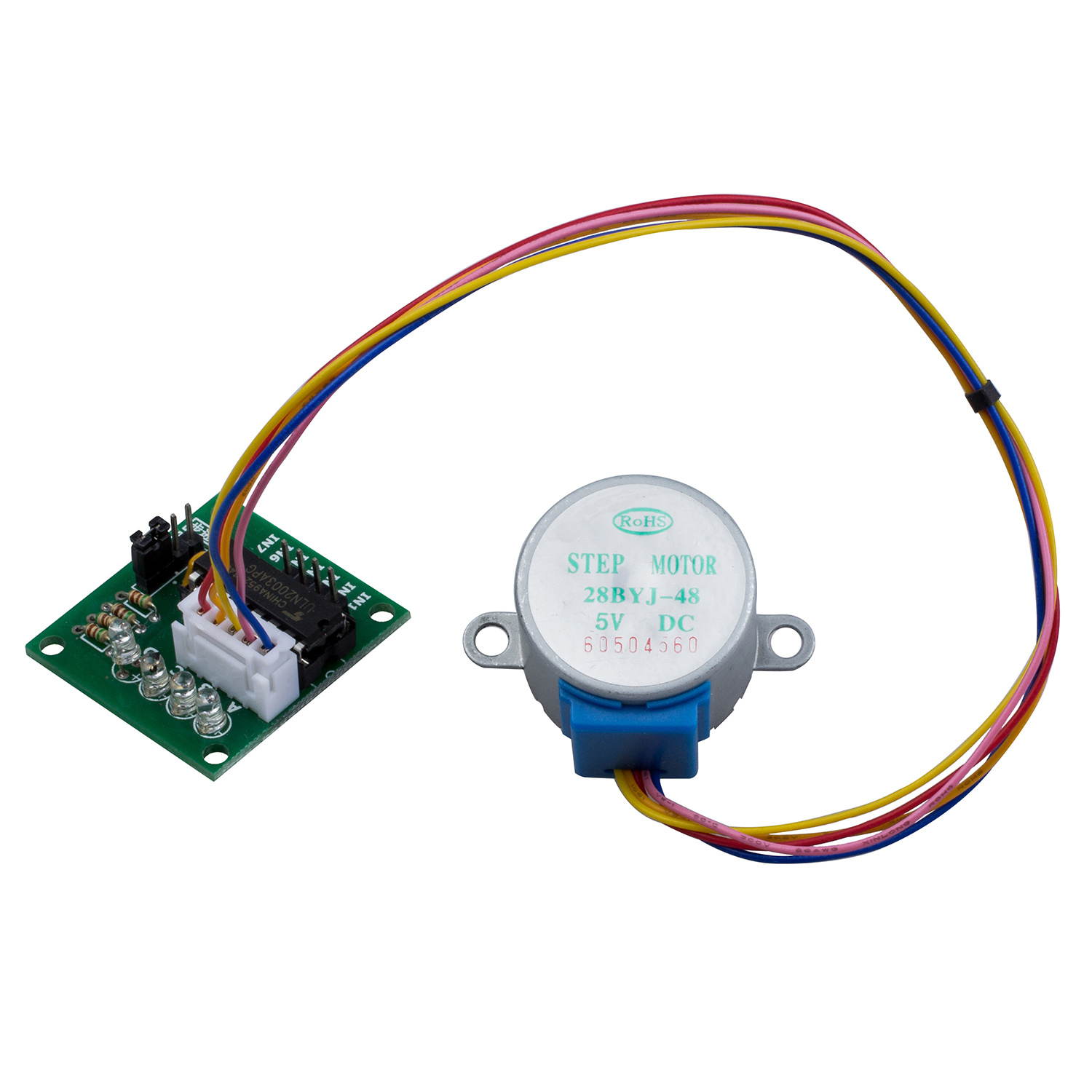 28byj 48 28byj48 dc 5v 4 phase 5 wire stepper motor with for 5 phase stepper motor driver