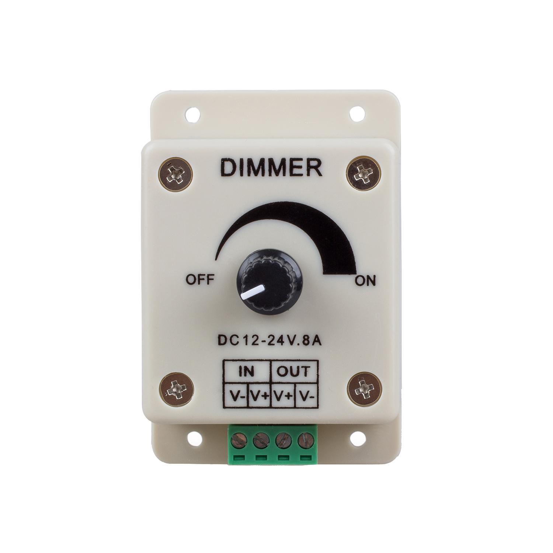 pwm dimming controller for led lights ribbon strip 12 24 volt 8 amp ed. Black Bedroom Furniture Sets. Home Design Ideas