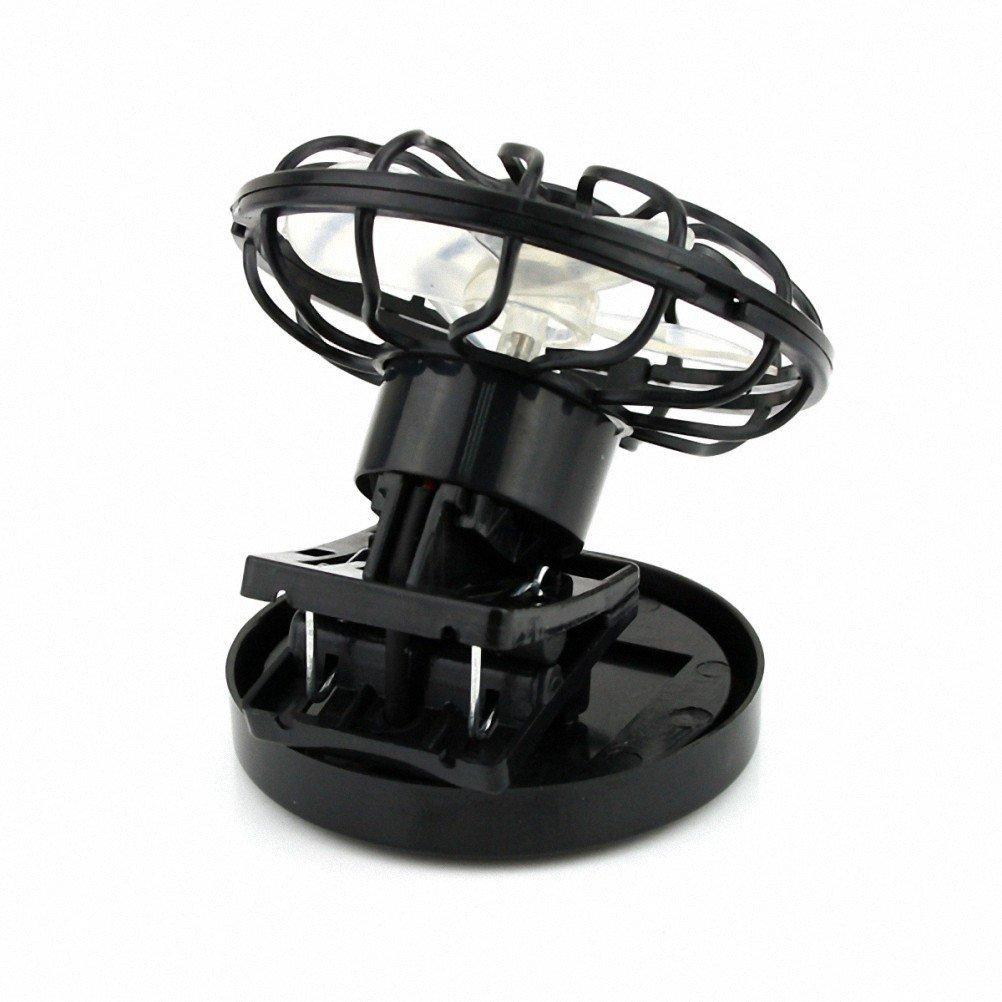 Ventilatore Con Pannello Solare : Clip on ventilatore raffreddamento solare pannello energia