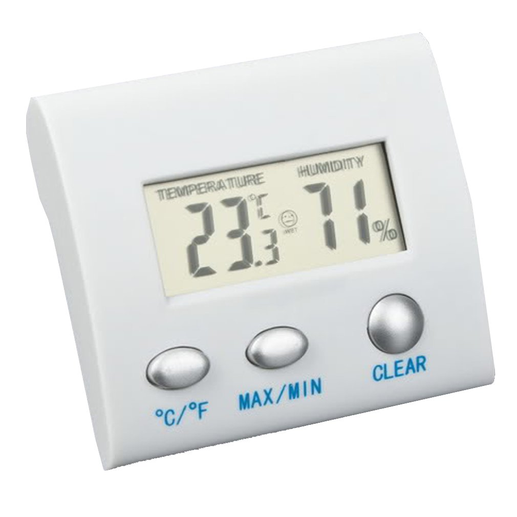 3x lcd digital thermometer hygrometer humidity temperature. Black Bedroom Furniture Sets. Home Design Ideas