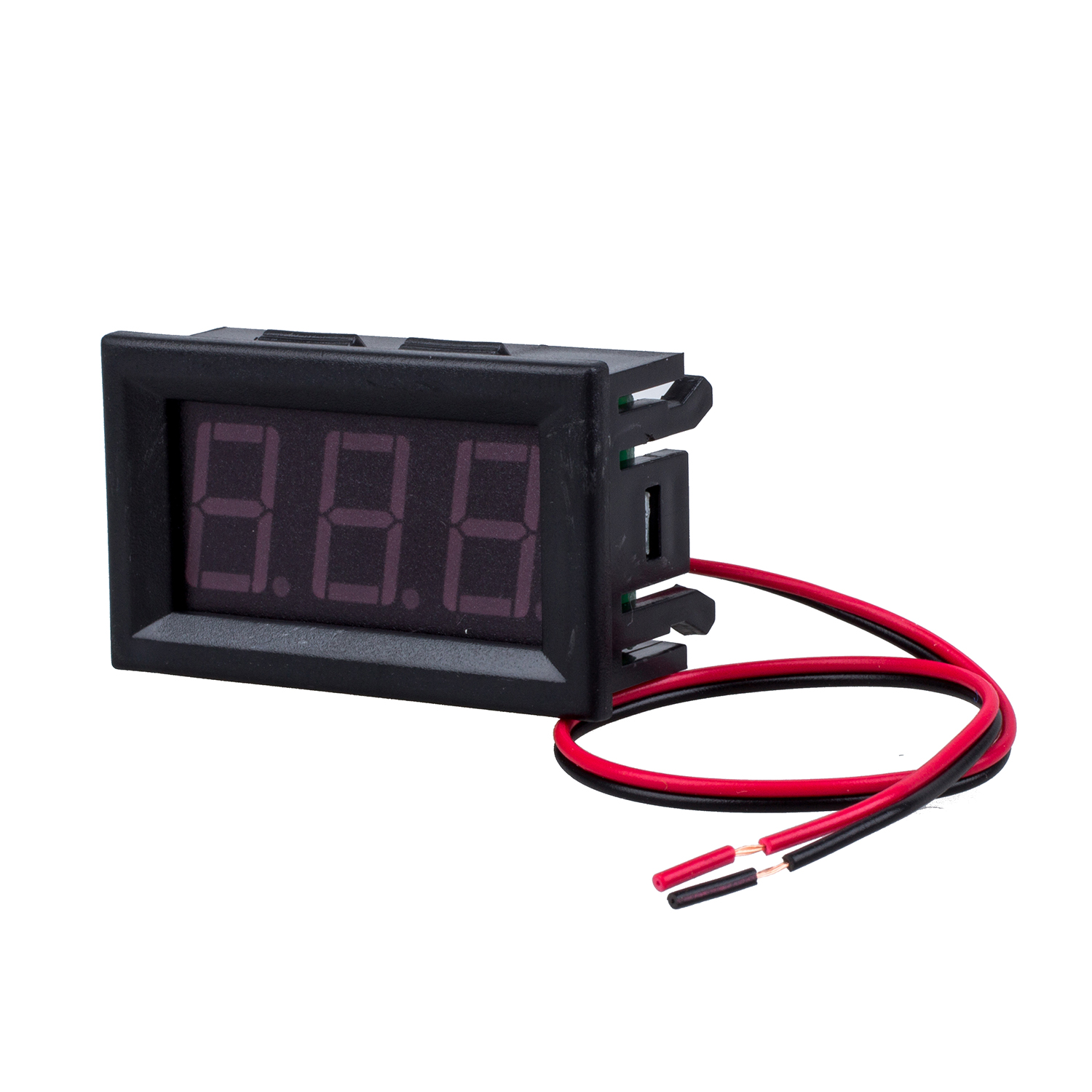 Dc Voltage Digital Panel Meters : New wire blue dc v led panel digital display