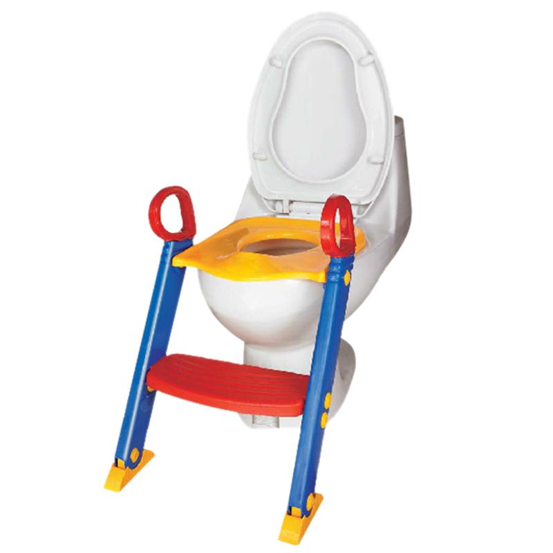 faltbarer kinder wc training stuhl toepfchen toilette q6r7. Black Bedroom Furniture Sets. Home Design Ideas