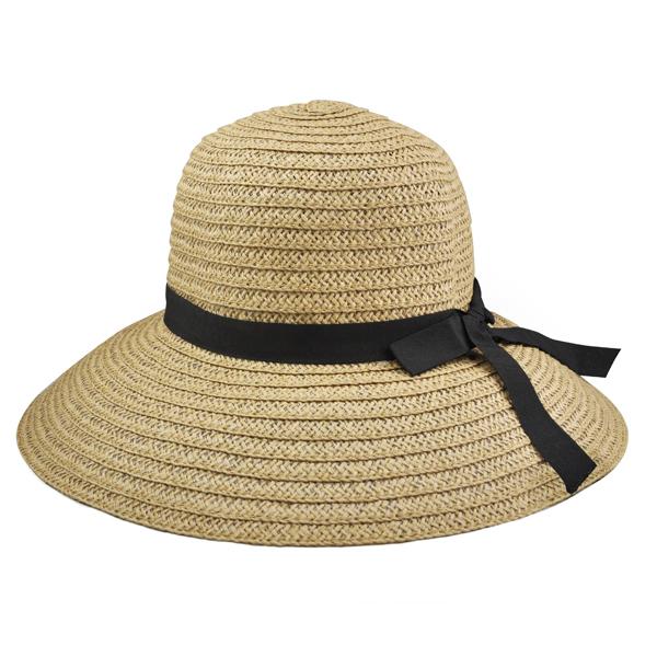 femme dames chic vaste large bordure ete plage soleil chapeau de paille wt ebay. Black Bedroom Furniture Sets. Home Design Ideas