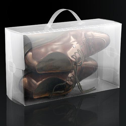 5 x boite de rangement de chaussure en plastique - Boite rangement chaussures plastique ...