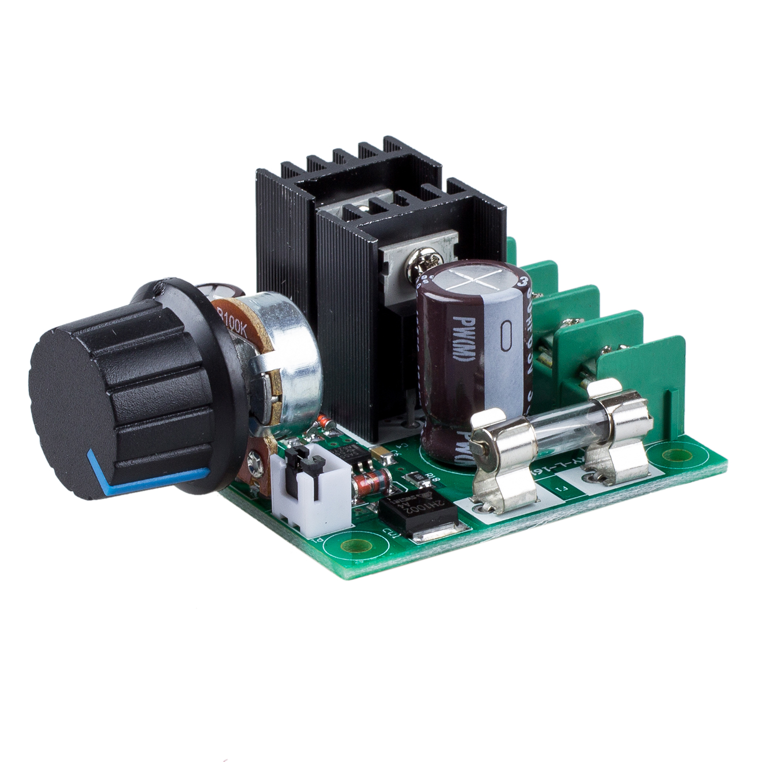12v 40v 10a pwm dc motor speed controller with knob bt ebay for Speed control electric motor