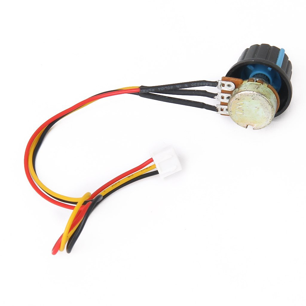 6v 90v 15a pulse width pwm dc motor speed controller lw ebay for Two speed motor control