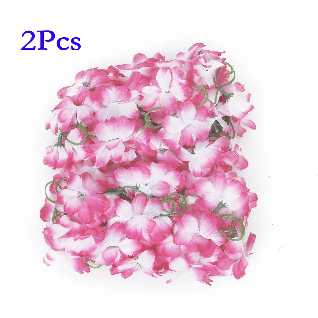 et 2x k nstliche azalee girlande blumen rebe hochzeits garten rosa und wei ebay. Black Bedroom Furniture Sets. Home Design Ideas