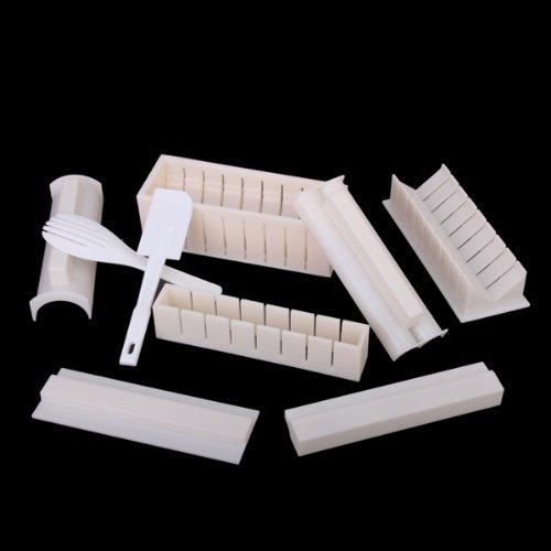 h3 602 10pcs set sushi maker kit reis roll formenbau. Black Bedroom Furniture Sets. Home Design Ideas