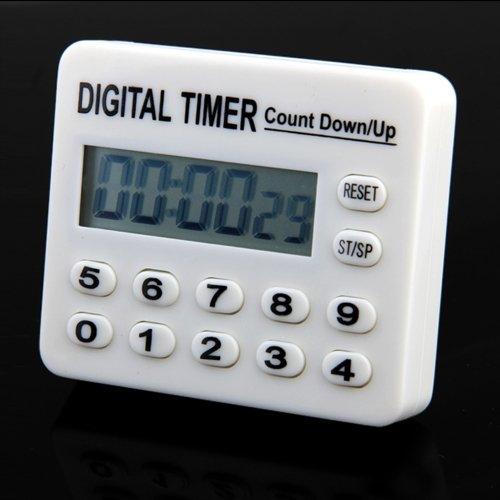 home kitchen cooking digital count down up timer alarm lw. Black Bedroom Furniture Sets. Home Design Ideas