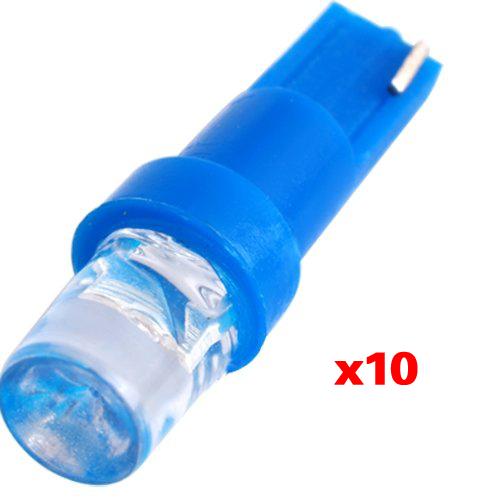 10 stk led lampe licht kfz t5 tacho leuchte 12v blau gy ebay. Black Bedroom Furniture Sets. Home Design Ideas
