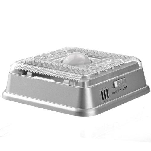 auto motion sensor detector indoor night light lamp wireless ebay. Black Bedroom Furniture Sets. Home Design Ideas