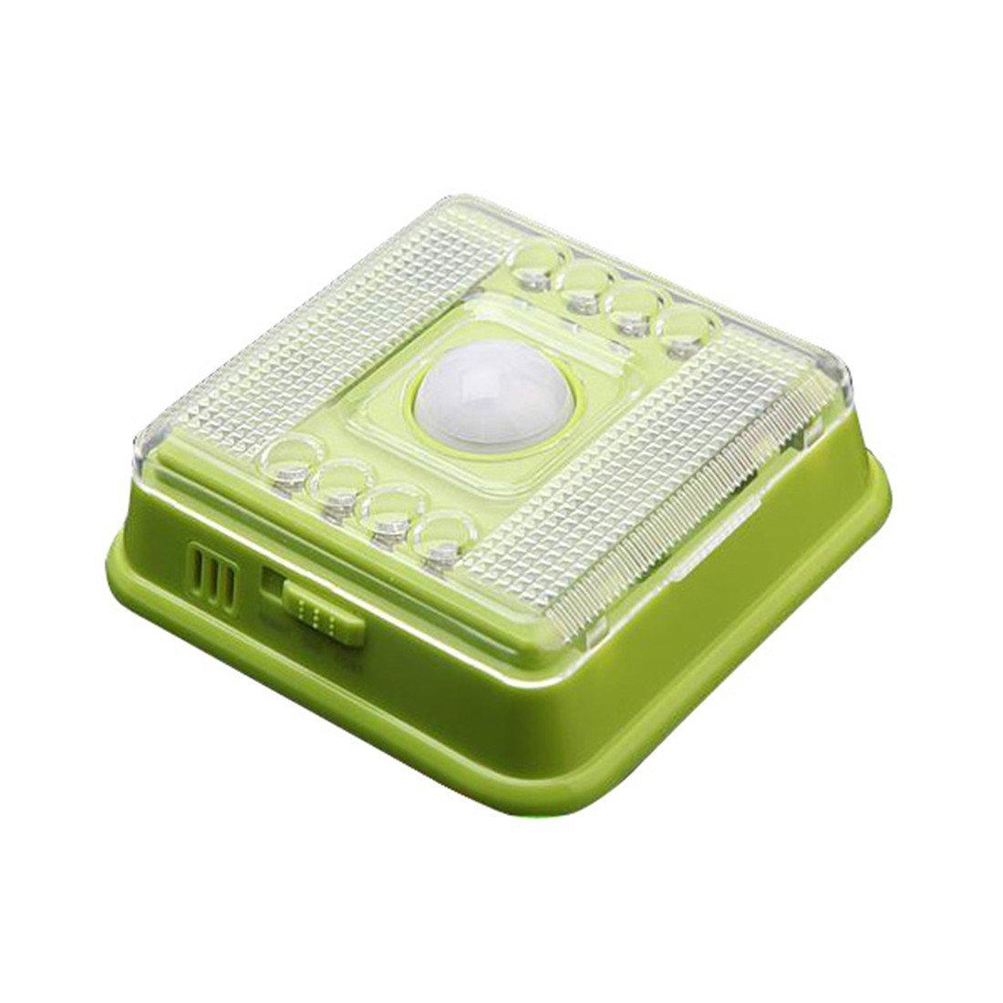 led auto motion sensor detector indoor night light lamp a4f6. Black Bedroom Furniture Sets. Home Design Ideas