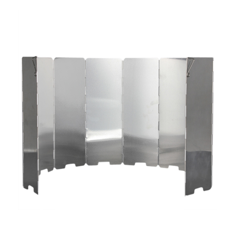 s2 10 platten faltbarer gasherd camping kocher wind schild. Black Bedroom Furniture Sets. Home Design Ideas