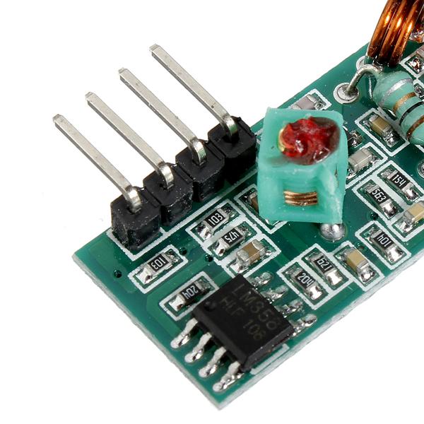 Mhz radio transceiver transmitter receiver module