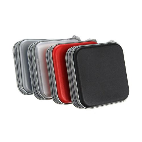 40-CD-DVD-Album-Storage-Carry-Case-Cover-Wallet-Sleeve-Holder-Bag-Hard-Box-BOT thumbnail 4