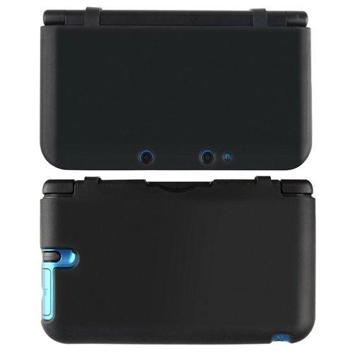 Noir etui case coque cover housse souple silicone pour 3ds for Housse 3ds xl