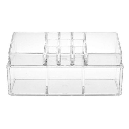 2x acrylique cosmetique presentoir support boite de - Rangement maquillage acrylique ...