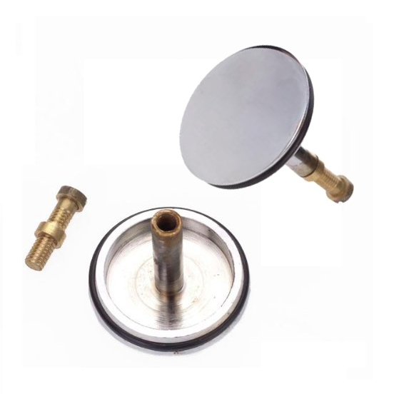 Chrome Plated Brass Basin Bathtub Drain Bath Stopper