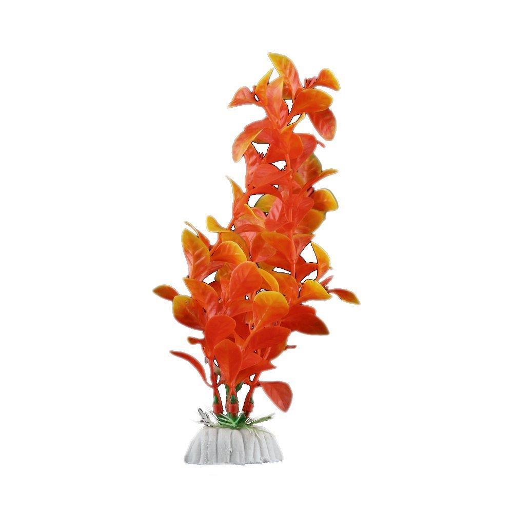 Plante artificielle orange en plastique decoration for Plante orange