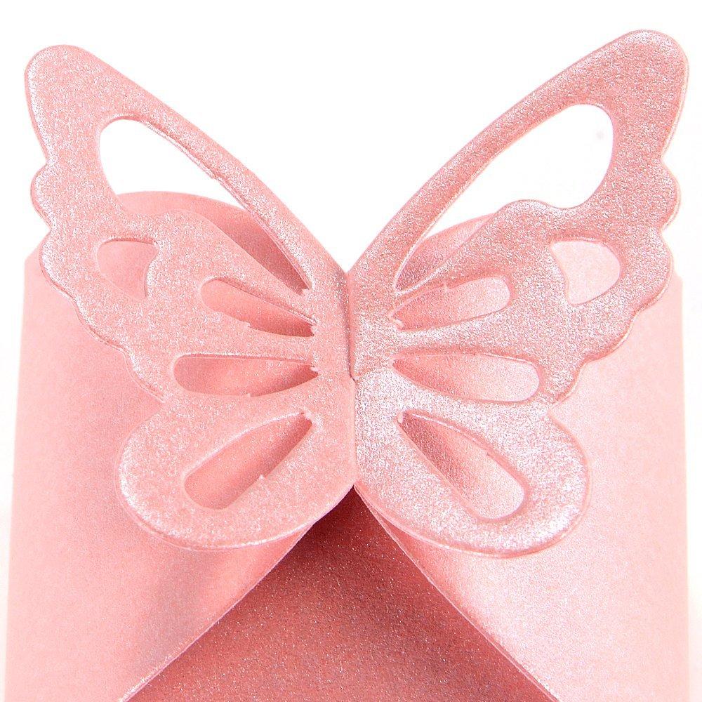 3x 50pcs Schmetterling Dekoration Hochzeit Taufe Dragees