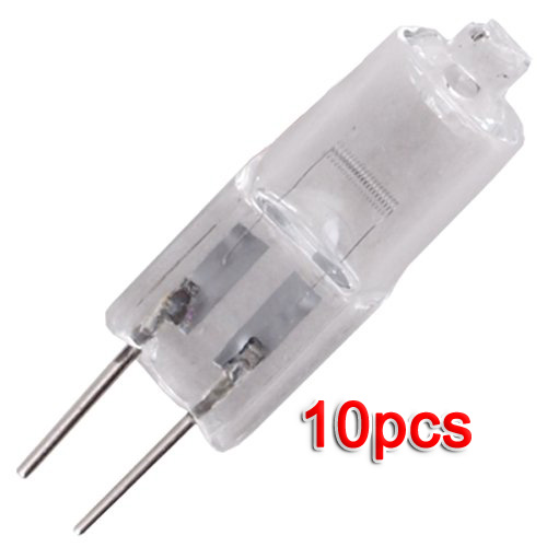 10x g4 jc type halogen light bulb lamp 12v 20w 20 watt t8 ebay T type light bulb