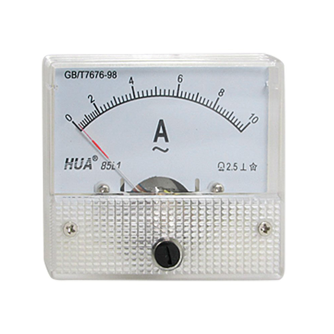 Ac Amp Meter : Cf class accuracy ac a analog panel amp meter l