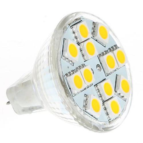 2w mr11 gu4 120 144lm led bulb 12 5050 smd warm white lamp ebay. Black Bedroom Furniture Sets. Home Design Ideas
