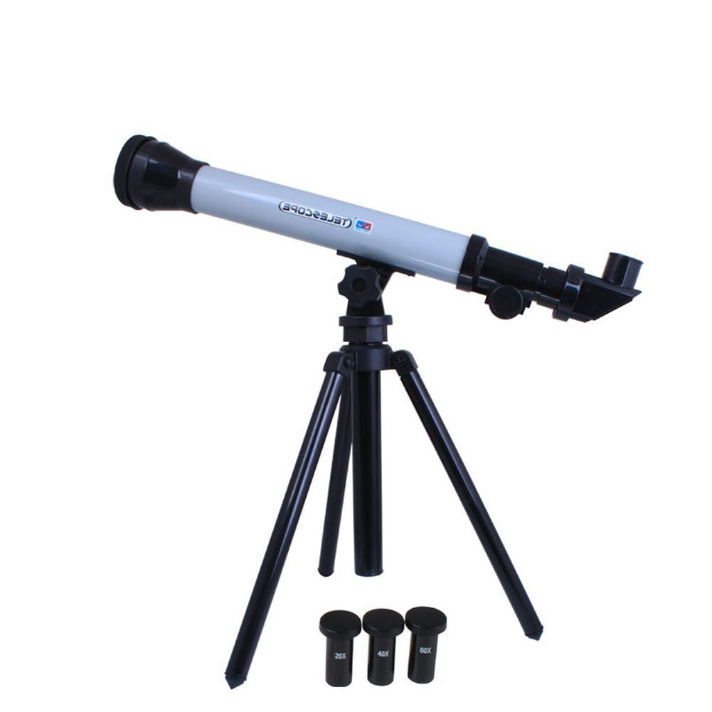 Science Kit Telescope Toy Set for Kids with 3 Eyepieces ...