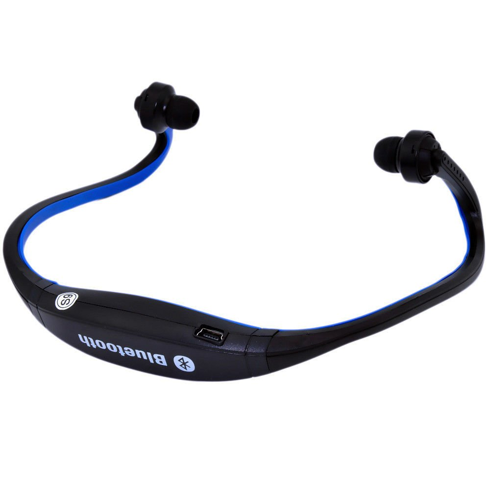 Sports Wireless Bluetooth Headset Headphone Earphone For Cell Phone Laptop LW