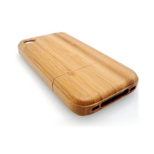 bamboo case hand made hard wood protective hard case for iphone 4 lw ebay. Black Bedroom Furniture Sets. Home Design Ideas