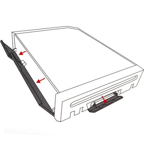 3-in-1-Lens-Replacement-Housing-Case-for-Wii-Console-White