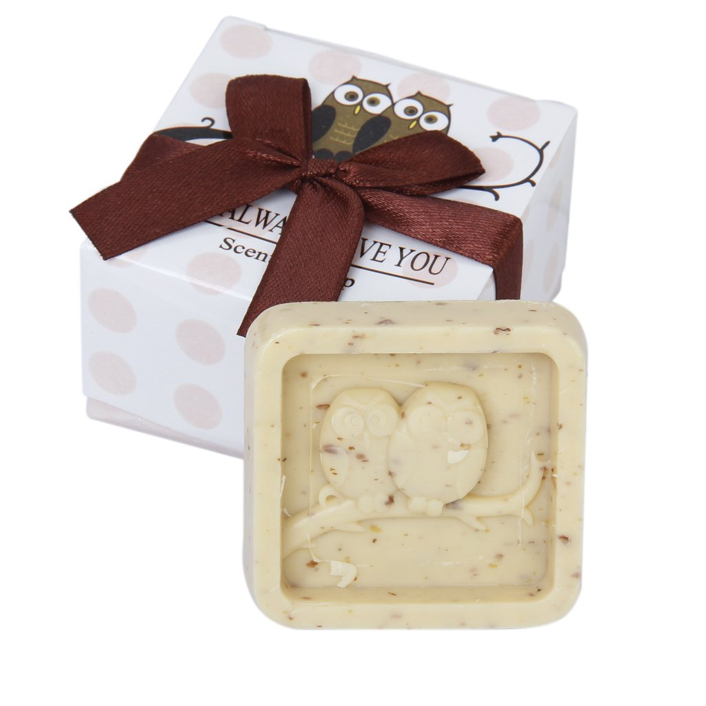 Wedding Favors Owl Always Love You Scented Soap Gift T1