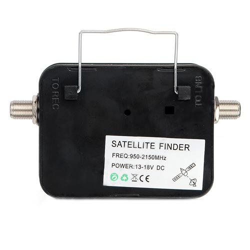 621q4 digital satellite finder signal meter for directv dish tv network ebay. Black Bedroom Furniture Sets. Home Design Ideas