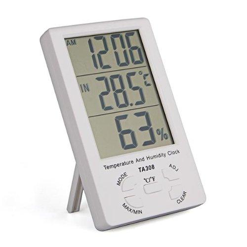 Ecran led thermometre hygrometre digital interieur for Ecran led exterieur prix