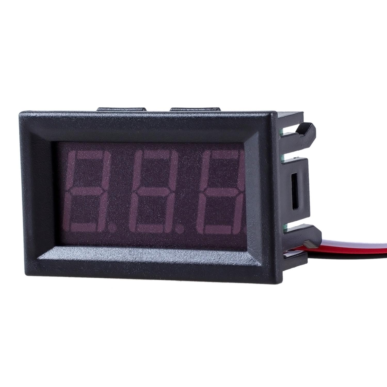 mini voltmeter tester digital voltage test battery dc 0 30v red auto car r9l9 cad. Black Bedroom Furniture Sets. Home Design Ideas
