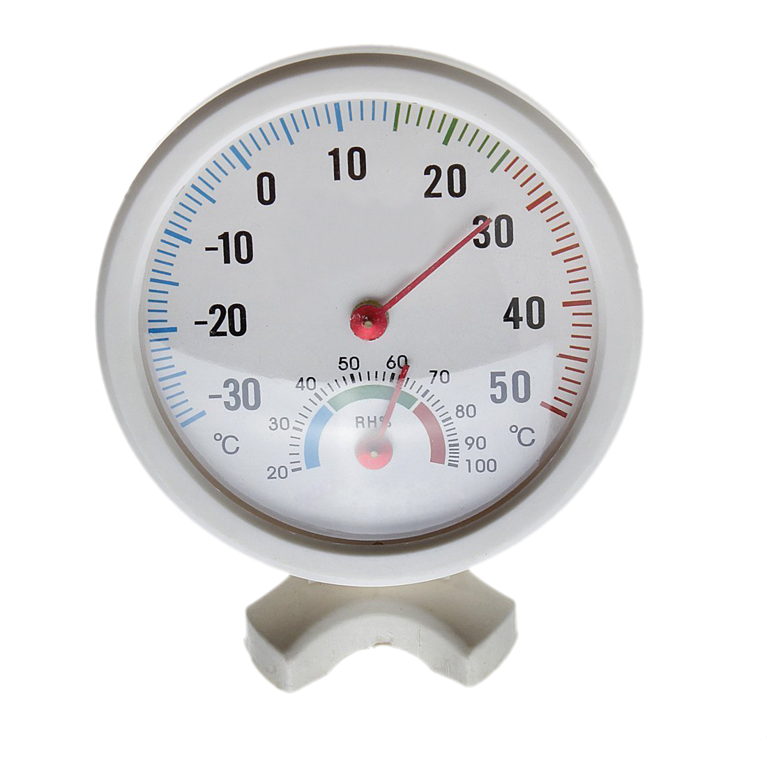 Thermometre hygrometre aiguille cadran rond testeur for Thermometres exterieurs