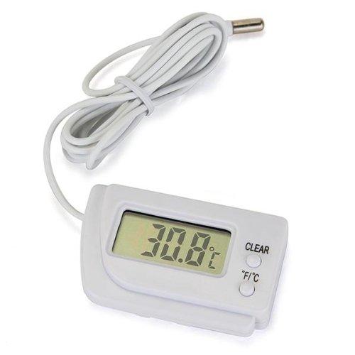 5x thermometre numerique lcd capteur de temperature frigo congelateur wt ebay. Black Bedroom Furniture Sets. Home Design Ideas