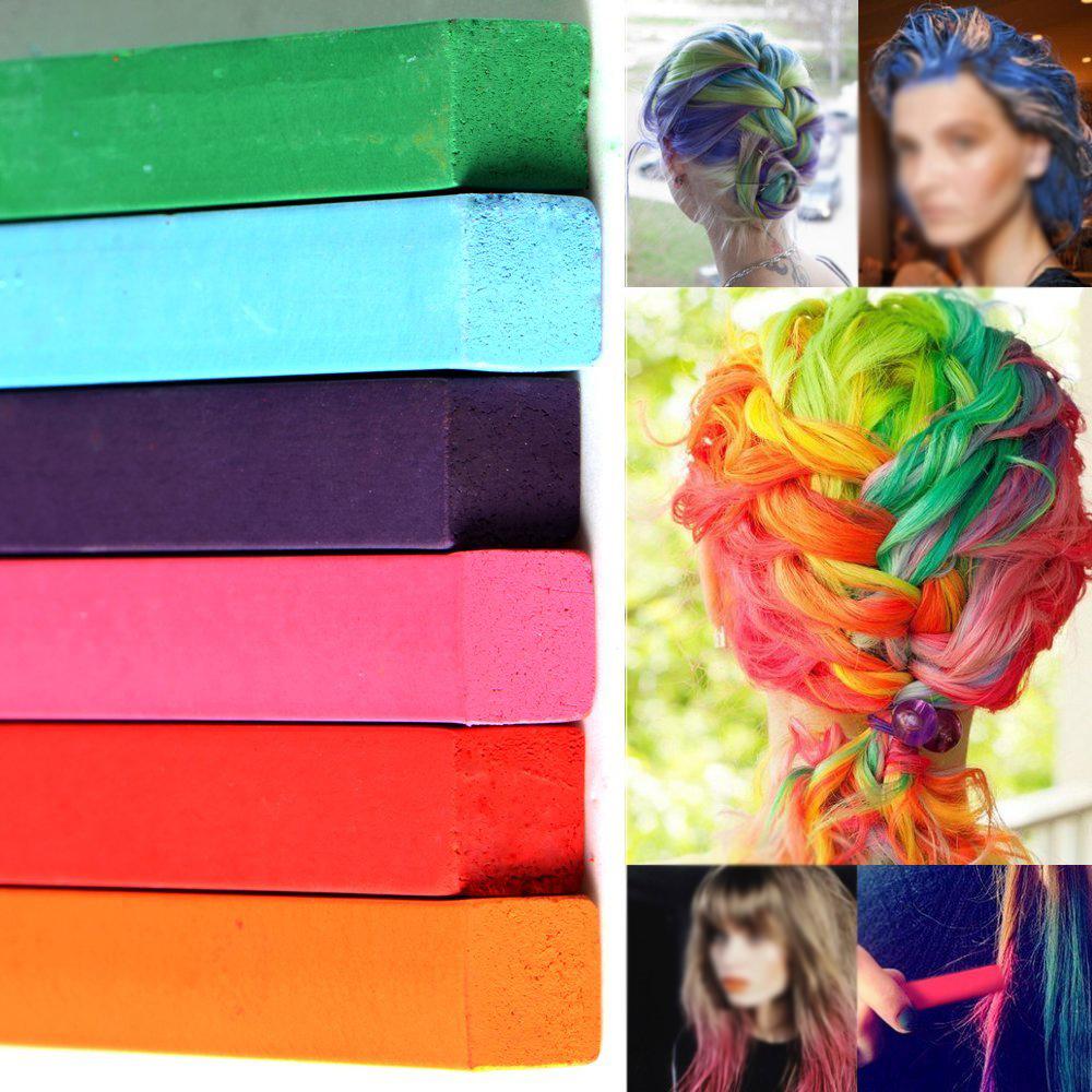 mode demploi 1selectioinnez une meche de cheveux que vous voulez colorer 2vaporiser la meche de cheveux de sorte quelle est humide - Coloration Cheveux A La Craie