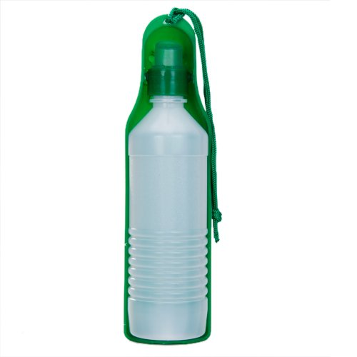 Portable Water Bottle And Bowl For Your Dog: 500ml Plastic Pet Dog Cat Travel Water Drinking Bottle Dog